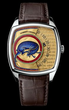 """Vacheron Constantin Métiers d'Art Savoirs Enluminés Watches With 'Illuminated' Dials - by Rob Nudds - don't miss the novel way they display the time - today on aBlogtoWatch.com """"The Vacheron Constantin Métiers d'Art Savoirs Enluminés Watches are raising the in-house bar for one of horology's most respected players. In the past, the Vacheron Constantin Métiers d'Art watches have impressed with their stunning visuals and their stubborn insistence on maintaining the craft skills of yore. Grand Feu enamel, precious gems, hand-engraving, and guilloche patterns have illuminated dials that often stick in your mind's eye…"""""""