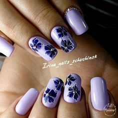 How to make a pretty Christmas tree pattern easily - My Nails Purple Nail Art, Purple Nail Designs, Pretty Nail Art, Cute Nail Art, Nail Art Designs, Nails Design, Stylish Nails, Trendy Nails, Violet Nails