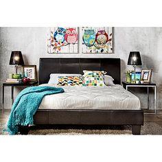 Bedroom Sets Metro Modern Bedroom Furniture Espresso Queen Size Bed Tufted Headboard Casual Mild And Mellow Home & Garden
