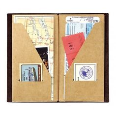My Life All in One Place: Make your own Midori Traveler's Notebook kraft fil...