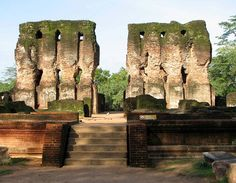 Ruins of the ancient city of Polonnaruwa