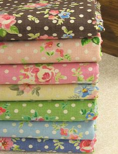 Jardin Rose Fabric Set