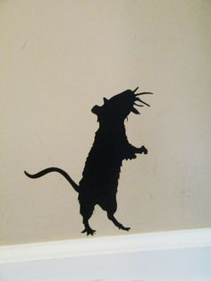 Silhouette Cameo Halloween Mouse..Image the possibilities for Halloween parties!