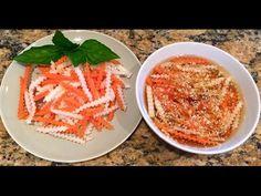 Vietnamese Dipping Sauce - Daikon, Carrot Pickle / ĐỒ CHUA - NƯỚC CHẤM - YouTube