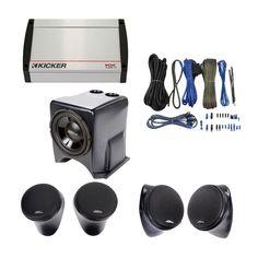 "Pair Cab Mount Universal FLAT Mount Roof Speaker Pods 6.5/"" Speakers Rhino"