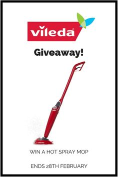"""Vileda Giveaway! Some fab giveaways over at """"What the red head said"""""""