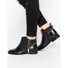 Buy ASOS ALARM Wide Fit Leather Ankle Boots at ASOS. Get the latest trends with ASOS now. Wide Ankle Boots, Fringe Ankle Boots, Low Heel Boots, Bootie Boots, Ankle Booties, Asos, Short Boots, Leather Ankle Boots, Pretty Shoes