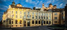 The historic 4 star Hotel Elizabeth is located in Trencín in western Slovakia and offers spa facilities, cuisine and locations for weddings, conferences, events and seminars European Wedding, Wellness, Bratislava, 4 Star Hotels, Trip Planning, Castle, Louvre, Adventure, Country