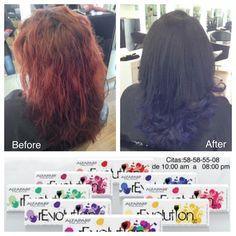 HERMOSO CAMBIO !    #vellesasalon #judithluna #luzma #makeup #hair #cortes #peinados #maquillajes
