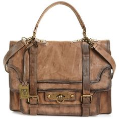Frye Handbag, Cameron Satchel found on Polyvore