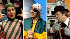 Le pirate Maboule (Jacques Létourneau) en 1968,  la Souris verte (Louisette Dussault) en 1970,  et Bobino (Guy Sanche) en 1975