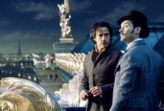 "Holmes and Watson in Paris (""Sherlock Holmes: A Game of Shadows,"" 2011)"