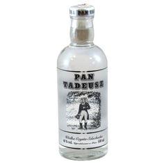 Pan Tadeusz Wódka Poland, Vodka Bottle, Packaging, Drinks, Bar, Kitchens, Alcohol, Drinking, Beverages
