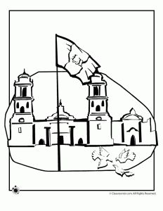 Week 20 mexican independence day revolution cc cycle for Mexican independence day coloring pages