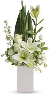 Order Teleflora's Peace And Harmony Bouquet - Teleflora's Peace And Harmony Bouquet from Portland Florist Shop, your local Portland florist. For fresh and fast flower delivery throughout Portland, OR area. Arrangements Ikebana, Church Flower Arrangements, Church Flowers, Beautiful Flower Arrangements, Funeral Flowers, White Flowers, Floral Arrangements, Beautiful Flowers, Contemporary Flower Arrangements