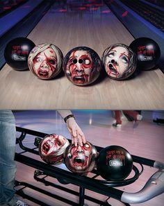 Bowling Ball Zombie Heads