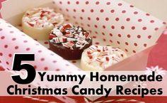 5 Yummy Homemade Christmas Candy Recipes
