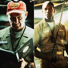Crimson Tide - Solid action thriller starring two powerful actors: Denzel Washington and Gene Hackman