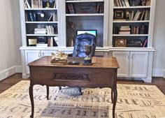 study desk #frenchdecor