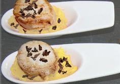 Cuillères parmentières de Saint-Jacques Cooking Chef