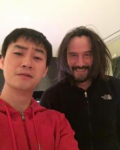 You have a pen-pal from China. Tiger-Chen is a nice guy. You can learn kung-fu from him. He is like a brother to you. Keep him to teach you kung-fu. It a challenging game to learn. Keanu Reeves John Wick, Keanu Charles Reeves, Man Of Tai Chi, The Boy Next Door, River Phoenix, Vintage Boys, A Good Man, Handsome, Guys