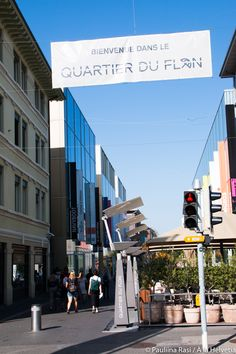 My Top ten in Lausanne, Switzerland: Quartier du Flon.
