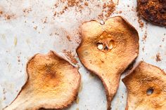 Cocoa Pear Crisps // the year in food