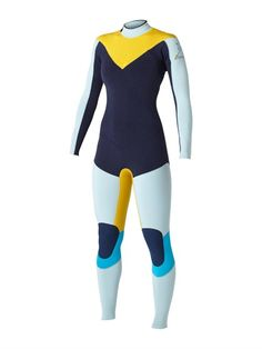 BLUKassia Cypher 3/2 Back Zip Wetsuit by Roxy - FRT1
