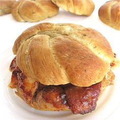 Pretzel Sandwich Rolls: something to crow about | Flourish - King Arthur Flour's blog