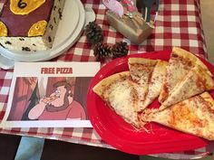 Gravity Falls birthday party food. Pizza