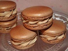 Macarons ganache montée à la crème de marron