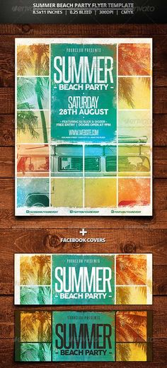 Summer festival flyer Flyer template, Template and Summer - summer flyer template
