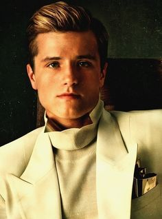 Peeta Mellark ~ Catching Fire   I could just dunk him in my coffee! It's mostly Peeta that I love, but Josh Hutcherson does play him well!