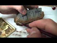 How to create mud effects with pigments - by MAC. - YouTube