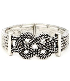 Rope Double Infinity Bracelet, fellow #revengers miss thorne would look gorg in this #revenge @emiliyvancamp