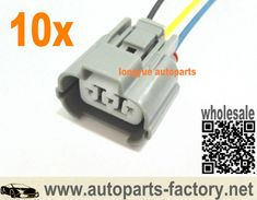 10set GM Toyota 3 Pin Male Connector fit 1JZGTE 2JZGTE