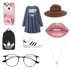 """""""Casual"""" by miadoyle000 on Polyvore featuring Casetify, Ray-Ban, rag & bone, adidas, Links of London and Topshop"""