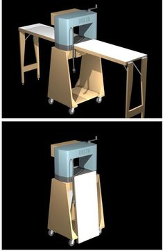 Planer Stand #WoodworkingBench