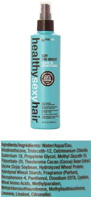 Healthy Hair Sexy Hair Concepts Healthy Sexy Hair Soy-Tri-Wheat Leave In Conditioner 8.5fl oz $12.83 & FREE Shipping on orders over $35.