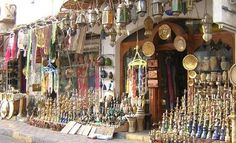 Luxor, Egypt - Shopping at the souq (market)