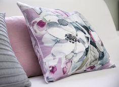 Apple Flowers, Flower Pillow, Delicate, Cushions, Throw Pillows, Cover, Pink, Cotton, Future