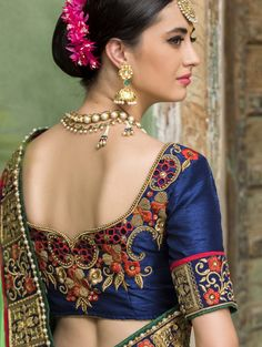 saree embroidery - Google Search