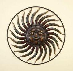 Huge Metal Sun