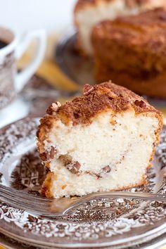 sour cream pecan coffee cake.