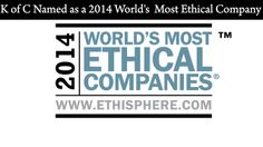 K of C Named as a 2014 World's Most Ethical Company Fundraises with BoosterShot  http://www.goboostershot.com/store/  #fundraising #nonprofitfundraising #schoolfundraising #youthsports
