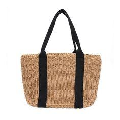 Woven Straw Round Handbag Rattan #gift #bag #dresses #accessories #rattan #handbag Summer Bags, Shoulder Handbags, Rattan, Beachwear, Summer Outfits, Fashion Outfits, Tote Bag, Clothes For Women, Accessories