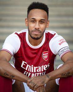 Aubameyang Arsenal, Arsenal Players, Oh Captain My Captain, Pierre Emerick, Football, Tank Man, Soccer Stuff, Sports, Mens Tops