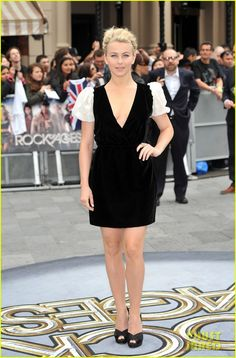 Julianne Hough: 'Rock of Ages' London Premiere! wearing Valentino