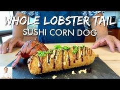 Baked Lobster Tails, Broiled Lobster Tails Recipe, Broil Lobster Tail, Easy Romantic Dinner, Cooking Frozen Lobster Tails, Corndog Recipe, Lobster Dinner, Fish And Chicken, How To Cook Lobster