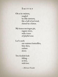 Smitten by Michael Faudet